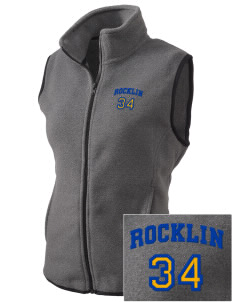 Sierra Christian School Rocklin Embroidered Women's Fleece Vest