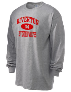 Riverton Elementary School Riverton Wolves 6.1 oz Ultra Cotton Long-Sleeve T-Shirt