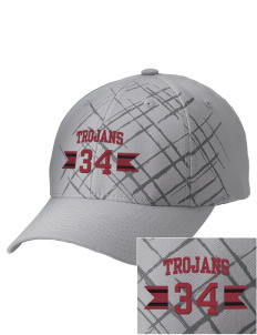 Edna Bigham Mays Elementary School Trojans Embroidered Mixed Media Cap