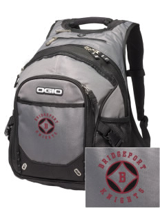 Bridgeport Elementary School Knights Embroidered OGIO Fugitive Backpack