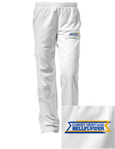 Christ Heritage Academy Bellflower Embroidered Women's Tricot Track Pants