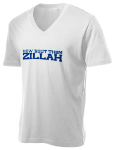 Christian Worship Center Zillah Alternative Men's 3.7 oz Basic V-Neck T-Shirt