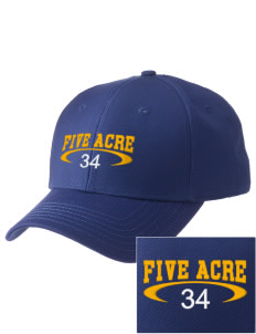 Five Acre School Sequim  Embroidered New Era Adjustable Structured Cap