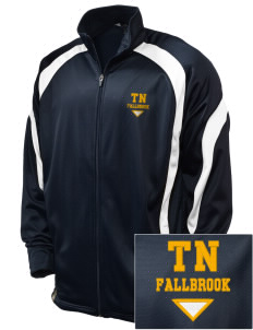 The New School Fallbrook Embroidered Holloway Men's Tricotex Warm Up Jacket