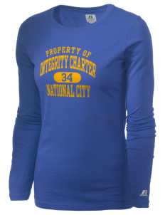Integrity Charter School National City  Russell Women's Long Sleeve Campus T-Shirt