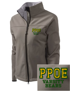 Pikes Peak School of Expeditionary Learn Bears Embroidered Women's Glacier Soft Shell Jacket