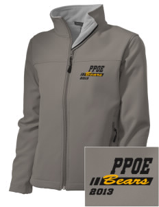 Pikes Peak School of Expeditionary Learn Bears Embroidered Women's Soft Shell Jacket