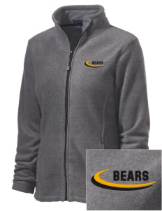 Pikes Peak School of Expeditionary Learn Bears Embroidered Women's Wintercept Fleece Full-Zip Jacket