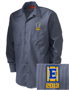 Einstein Elementary School Einstein Elementary Embroidered Men's Industrial Work Shirt - Regular