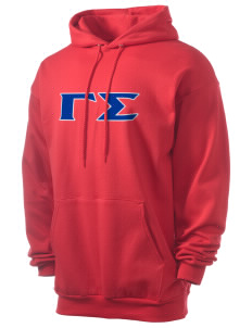 Gamma Sigma Men's 7.8 oz Lightweight Hooded Sweatshirt