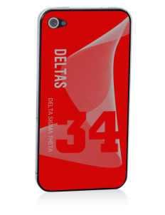 Delta Sigma Theta Apple iPhone 4/4S Skin