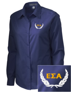Epsilon Sigma Alpha Embroidered Women's Easy-Care Shirt
