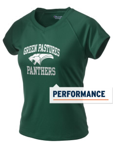 Green Pastures Elementary School Panthers Champion Women's Wicking T-Shirt