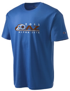 Alpha Zeta Champion Men's Tagless T-Shirt