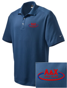 Alpha Delta Chi Embroidered Nike Men's Dri-Fit Classic Polo