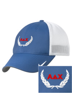 Alpha Delta Chi Embroidered Nike Golf Mesh Back Cap