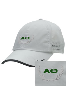 Alpha Theta Embroidered Nike Dri-FIT Swoosh Perforated Cap