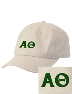 Alpha Theta Embroidered Champion 6-Panel Cap