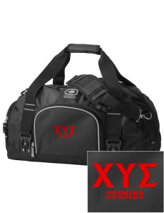 Chi Upsilon Sigma  Embroidered OGIO Big Dome Duffel Bag