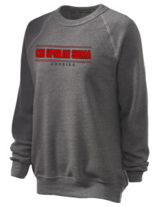Chi Upsilon Sigma Unisex Alternative Eco-Fleece Raglan Sweatshirt