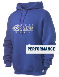 Delta Epsilon Psi Russell Men's Dri-Power Hooded Sweatshirt