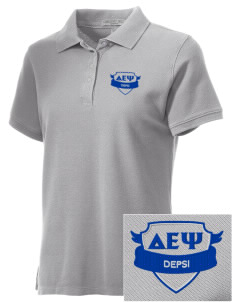 Delta Epsilon Psi Embroidered Women's Performance Plus Pique Polo