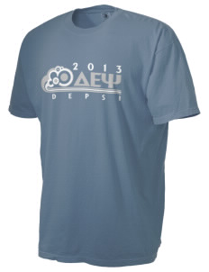 Delta Epsilon Psi Men's Pigment-Dyed Vintage T-Shirt