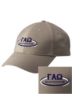 Gamma Alpha Omega  Embroidered New Era Adjustable Structured Cap