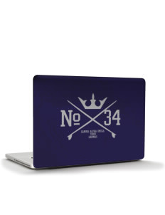 "Gamma Alpha Omega Apple MacBook Pro 17"" & PowerBook 17"" Skin"