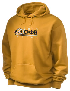 Omega Phi Beta Holloway Men's 50/50 Hooded Sweatshirt