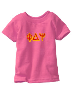 Phi Delta Psi  Toddler Jersey T-Shirt