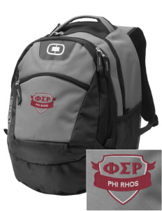 Phi Sigma Rho Embroidered OGIO Rogue Backpack