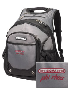 Phi Sigma Rho Embroidered OGIO Fugitive Backpack
