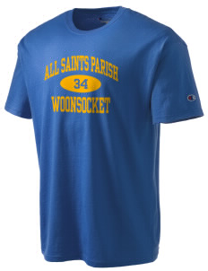 All Saints Parish Woonsocket Champion Men's Tagless T-Shirt