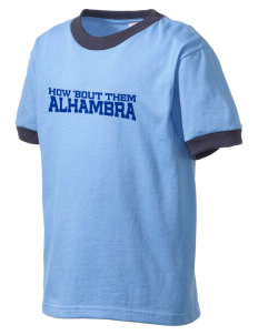 All Souls Parish Alhambra Kid's Ringer T-Shirt