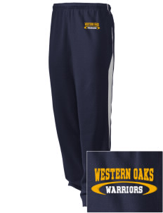 Western Oaks Elementary School Warriors Embroidered Holloway Men's Pivot Warm Up Pants