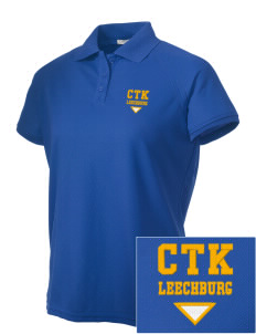 Christ the King Leechburg Embroidered Women's Technical Performance Polo