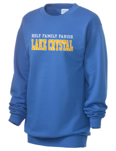 Holy Family Parish Lake Crystal Unisex 7.8 oz Lightweight Crewneck Sweatshirt