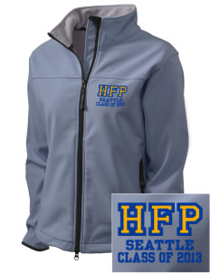 Holy Family Parish Seattle Embroidered Women's Glacier Soft Shell Jacket