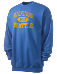 Holy Family Parish Seattle Men's 7.8 oz Lightweight Crewneck Sweatshirt