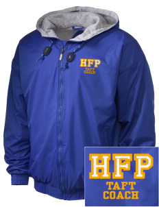 Holy Family Parish Taft Embroidered Holloway Men's Hooded Jacket