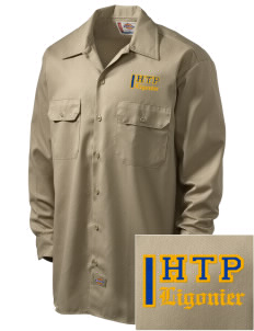 Holy Trinity Parish Ligonier Embroidered Dickies Men's Long-Sleeve Workshirt