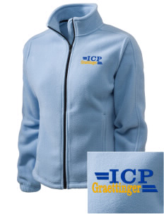 Immaculate Conception Parish Graettinger Embroidered Women's Fleece Full-Zip Jacket