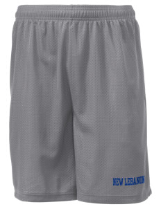 "Immaculate Conception Parish (1871) New Lebanon Men's Mesh Shorts, 7-1/2"" Inseam"