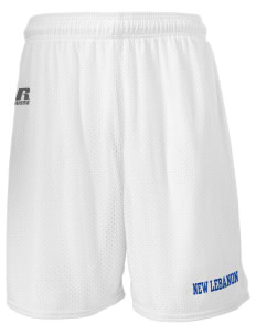 "Immaculate Conception Parish (1871) New Lebanon  Russell Men's Mesh Shorts, 7"" Inseam"