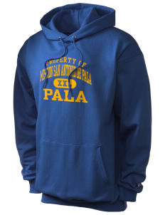 Mission San Antonio de Pala Pala Champion Men's Hooded Sweatshirt