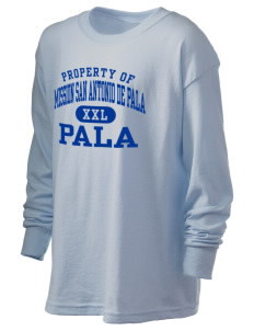 Mission San Antonio de Pala Pala Kid's 6.1 oz Long Sleeve Ultra Cotton T-Shirt