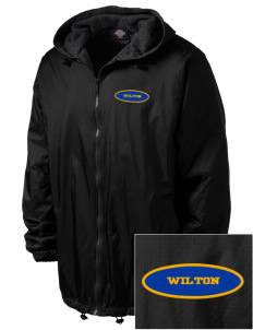 Our Lady of Fatima Parish Wilton Embroidered Dickies Men's Fleece-Lined Hooded Jacket
