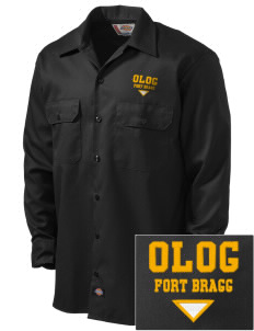 Our Lady of Good Counsel Parish Fort Bragg Embroidered Dickies Men's Long-Sleeve Workshirt