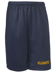"Protection of The BVM Parish Willimantic Long Mesh Shorts, 9"" Inseam"